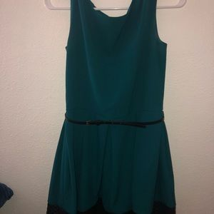 Tiana B. Dresses - Teal Formal Dress